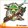 China Factory Bat Man Metal Hard Enamel Promotional Pin Badges