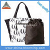 Ladies Polyester Carrier Handbag Totes Handle Shoulder Beach Bag