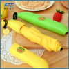 Banana 3 Fold Auto Open Advertising Umbrella