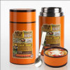 750ml 1000ml 1500ml 18/8 Stainless Steel Vacuum Lunch Box with Spoon
