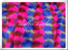 Long Pile Multi Color Artificial Fur