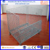 Ebilmetal Foldable Wire Container for Warehouse Storage
