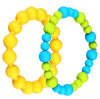 Mixed Color Gorgeous National Wind Silicone Bracelet