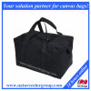 Black Canvas Carry on Duffel Bag