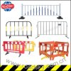 Plastic / Metal Temporary Traffic Safety Crowd Control Barrier