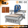 Muti Workstage 1325 Woodworking CNC Router with Three Asynchronous Spindle/ Head