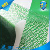 Tamper Proof Security Packaging Void Tape for Packing Protection