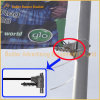 Metal Street Pole Advertising Flag Hanger (BS-HS-012)