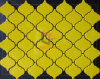 Yellow Color Flower Shape Ceramic Made Mosaic Tile (CST141)