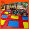 Foam Pit Bungee Floor Jumping Trampolines with Big Air Bag