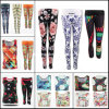 Custom Jogging Pants Compression Tights, Women Running Tights, Yoga Wear