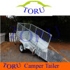 8X5′ & 10X5′ Tandem Box Trailer with Cage