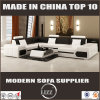 Modern U Shaped Leather Sectional Sofa