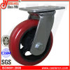 4X2 Korea Type Inustrial PU Wheels Heavy Duty Swivel Caster
