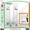 Rolling Metal Storage Foldable Moving Cage with Wheels