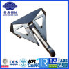 Steel Fabricated Hhp Flipper Delta Anchor