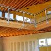 Stainless Steel Glass Balcony Side Railing Design Glass Balustrade