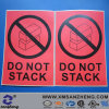 Custom High Temperature Resistant Caution Safety Sign with Self Adhesive Stickers