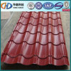 Beautiful Red Color Glazed Steel Roofing Sheet