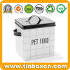 5.5L Pet Food Metal Container Storage Tin for Cat/Dog