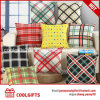 Promotion Gift Custom Decorative Plaid Throw Pillows Case Cushion Covers