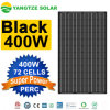 Yangtze Solar 25 Years Warranty High Efficiency All Black Solar Panel Cell for 360W 410W Solar Panel