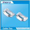 201 304 316 Stainless Steel Ear-Lock Banding Buckle