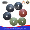 100mm Diamond Convex Polishing Pad for Polishing Stone