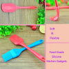 Baking Accessories Food Grade Silicone Bakeware Spatula