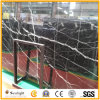 China Cheapest Black Nero Marquina Marble Slabs/Nero Marquina Marble Tiles