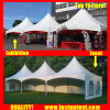 Second Hand PVC Pinnacle Tent for Banquet Hall 8X8m 8m X 8m 8 by 8 8X8 8m 120 People Seater Guest