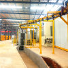 Machine Suppliers Hot Sales Latest Technology Hanging Chain Type Wheel Blasting Equipment for Pharmaceutical Surface Derust with ABB Motor