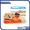 2 Compartment Food Packaging and Plastic Material Lunch Box