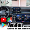 Lsailt Android 9.0 Carplay/ Android Multimedia Video Interface for Toyota Avalon / Camry / RAV-42018-2020 Support Youtube