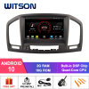 Witson Quad-Core Android 10 Car DVD GPS for Opel Insignia (2008-2011) Vehicle Radio