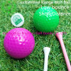 Short Flight Distance Customized Rubber 2-Pieces Driving Range Golf Ball
