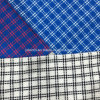 Cross Check Wool Fabric for Overcoat