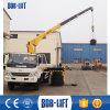 Straight Arm Hydraulic Crane with Truck Sq5SA2