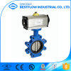 Ductile Iron Worm Gear Actuated Butterfly Valve