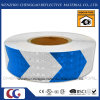 High Quality Blue and White Arrow Reflective Warning Tape (C3500-AW)