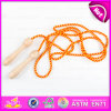 Colorful Cheap Children Wooden Jump Skipping Rope, Promotional Gift Wooden Skipping Rope Fitness W01A137