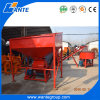 Wt1-25 Interlocking Block Making Machines with Soil Crusher, Eco Maquinas Tijolos Brick Machine