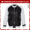 White Black Motorcycle PU Leather Jacket Manufacturers