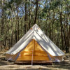 4m 5m Luxury Yurt Tent Camping Glamping Resort Hotel Event Canvas Bell Tent
