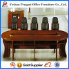 Customized Antique Wooden Oblong Meeting Table