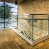 Low Price Base U Channel / Stainless Steel Glass Railing / Balustrade for Decking Easy to Install
