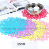 25cm Anti-Slip Silicone Butterfly Shape Dish Coaster