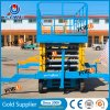 11m 500kg Diesel Hydraulic Mobile Man Lift Platform Table Price