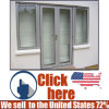 High Grade Aluminum Profile French Door