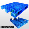 L1200*W1000*H155mm Plastic Pallets; 3 Runners; Open Deck; with Steel Tubes
